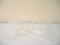 Cup & Round Container for thin walled product
