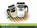 Glass Mug with Filter