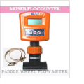 Moseb flocounter paddle wheel flow meter