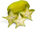 Tropical Fruit Star Fruit Carambola (Averrhoa Carambola)