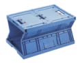 Foldable and collapsible containers  Lower volumes and reduce costs