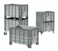 Heavy load containers  Stable, robust and practical
