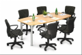 Office furniture Conference Table with Pole Leg
