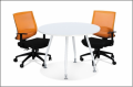 Office furniture Round Meeting Table with Inula Leg