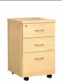 Office furniture 2 Drawers 1 Filling Mobile Pedestal