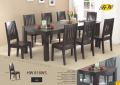 Dinner table black wooden