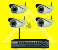NVR Wifi Surveillance System (Wireless)