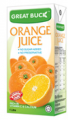 Fruit juices Orange (Great Buck)