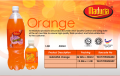 Soft drinks, carbonated - Orange Flavour