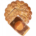 Cakes mooncake pure lotus 1 yolk
