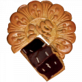Cakes mooncake red bean