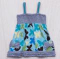 BUTTERFLIES SMOCKED DRESS