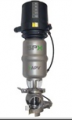 A mixproof valve especially for CIP-applications