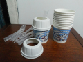 Wheat whirlwind Cup + Cover + Spoon