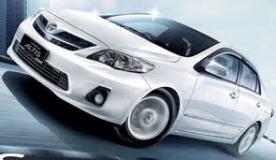 Order Rental Car Toyota Altis (Auto)