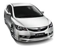 Order Rental Car Honda Civic (Auto)
