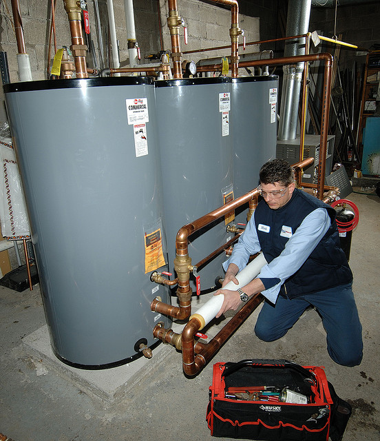 Order Water Heater Repair, Sales and Installation
