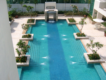 Order Designing and installation of swimming pool equipments
