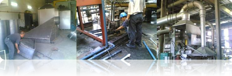 Order Piping & Ducting Works