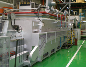 Order Mesh Belt Continuous Quench Temper Furnace