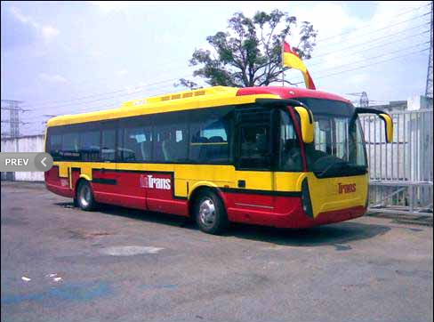 "Order Buses and minibuses lease and rental service ""Le Trans"""