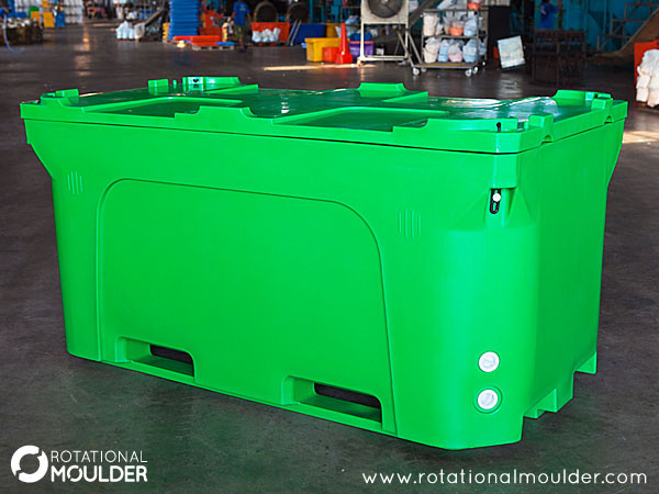 Order Double Wall Foam Filled Plastic Container