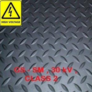 Order HIGH VOLTAGE INSULATION RUBBER FLOOR MAT