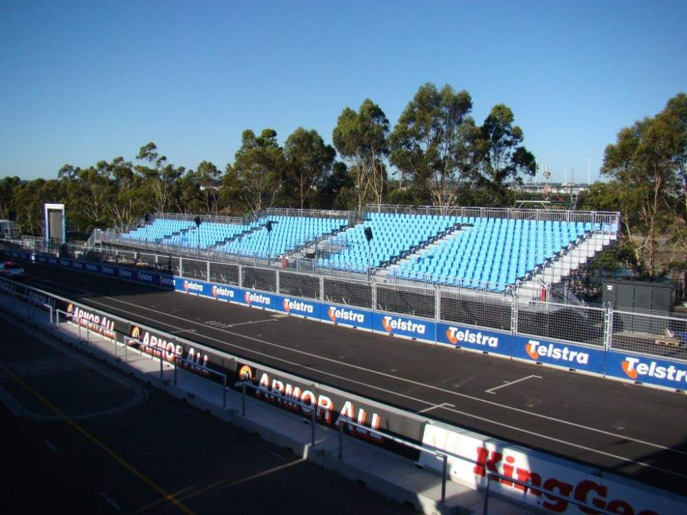 Order Bleacher & Seating Systems - Hot Dipped Galvanized High Tensile Strength Steel