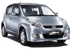Rental Cars Perodua MyVi Automatic