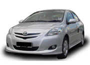 Rent Car Chauffer-Driven Toyota Vios 1.5 (A)