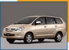 Car Rental Toyota Innova 2.0 - 7 seater (A)