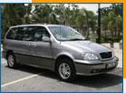 Car Rental Naza Ria 2.5 - 7 seater (A)
