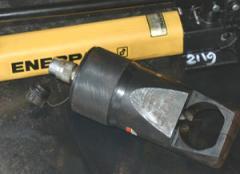 Hydraulic Nut Splitters Rental