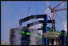 Heavy industrial steelwork