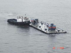 Barge towing services
